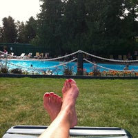 Photo taken at Esther Williams Swimming Pool by Susan Q. on 8/20/2011