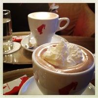 Photo taken at Julius Meinl Coffee House by Samantha O. on 9/2/2012