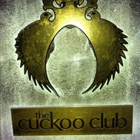 Photo taken at The Cuckoo Club by Djmilk B. on 5/6/2012