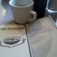 Photo taken at SEA Restaurant by Paula S. on 4/23/2012
