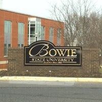 Photo taken at Bowie State University by Abdulrhman A. on 1/4/2012