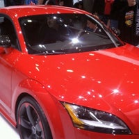Photo taken at Audi Stand at Detroit Auto Show by Aly A. on 1/16/2012