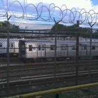 Photo taken at MTA Subway - Canarsie/Rockaway Pkwy (L) by Jamal A. on 7/14/2011