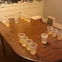 Photo taken at Beer Pong Table by Zach K. on 11/13/2011