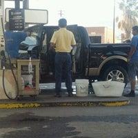 Photo taken at Cascade Car Wash by Trish on 9/23/2011