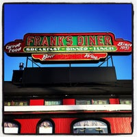 Photo taken at Frank's Diner by Melissa F. on 3/4/2012