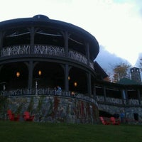 Photo taken at Lake Placid Lodge by Kristen S. on 9/24/2011