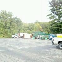 Photo taken at Ridgewood Recycling Center by Greg on 10/4/2011