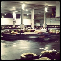 Photo taken at mirabella indoor karting by Martina G. on 7/4/2012
