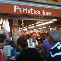 Foto tomada en Pinotxo por Enric A. el 4/6/2011