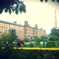 Photo taken at Salts Mill by Callum B. on 9/9/2011