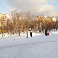 Photo taken at Горка На Звездном Бульваре by Dmitry K. on 1/18/2012