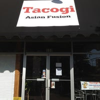 Photo taken at Tacogi by Gigantor on 4/9/2012
