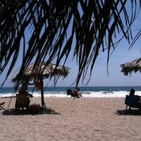 Photo taken at Playa Pelúa by Miguel H. on 5/29/2011