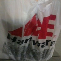 Photo taken at Ace Hardware by Lian B. on 1/17/2012