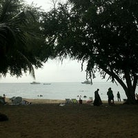 Photo taken at Sai Keaw Beach by Thaweeporn K. on 10/27/2011