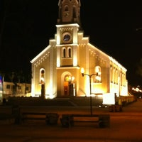 Photo taken at Catedral De São José Dos Pinhais by Tiago P. on 5/9/2012