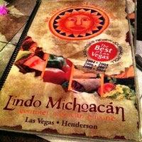 Photo taken at Original Lindo Michoacan by Daniel T. on 7/3/2011