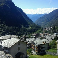 Photo taken at Chiesa In Valmalenco by Luca C. on 8/16/2011