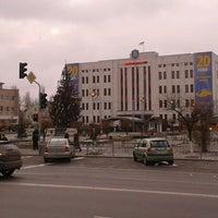 Photo taken at Майдан Свободи by Maryna F. on 12/23/2011