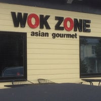 Photo taken at Wok Zone by Bob S. on 7/3/2012