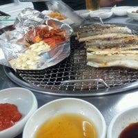 Photo taken at 황금어장 by Gene P. on 6/6/2012