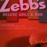 Photo taken at Zebbs Bar And Grill by Amanda B. on 6/17/2012
