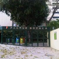 Photo taken at Parque Boyacá by Dali Y. on 2/18/2012