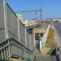 Photo taken at Gare Tahar Sfar by Nabil B. on 6/7/2012