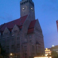Photo taken at Rathaus Berlin-Neukölln by Sebastian B. on 7/21/2012