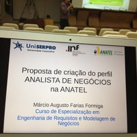 Photo taken at Serpro Regional by Marcio F. on 8/10/2012