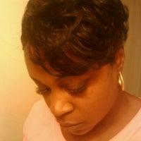 Photo taken at Shear Perfection Hair Salon & Barber/Braiding Shop by Lil-Bit on 12/11/2011