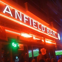Photo taken at Anfield Bar by Aksel Z. on 9/15/2011