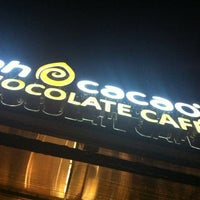 Photo taken at Ah Cacao Chocolate Café by iSocialWeb on 9/3/2012