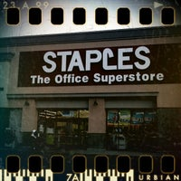 Photo taken at Staples - CLOSED by Ijaz A. on 9/14/2011