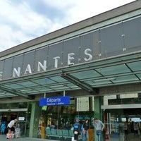 Photo taken at Nantes Railway Station by Parisian Geek on 2/27/2011