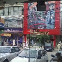 Photo taken at Bank Road Saddar by Mani B. on 10/7/2011