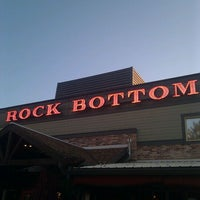 Photo taken at Rock Bottom Restaurant & Brewery by Chris N. on 10/19/2011