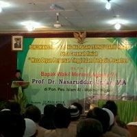 Photo taken at Pondok Pesantren Islam Al Mukmin by Nenden S. on 3/20/2012