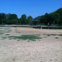Photo taken at Bill Archer Dog Park by Adri F. on 6/22/2012