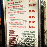 Photo taken at El Taquito Taco Truck by elena l. on 3/10/2012