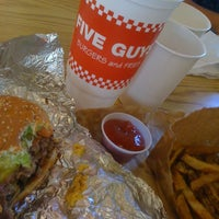 Photo taken at Five Guys by Dean O. on 7/7/2012