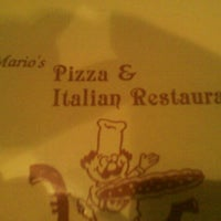 Photo taken at Mario's Pizza by Gaspare M. on 1/24/2011