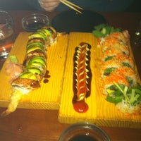 Photo taken at Sushi Wabi by Sylvia C. on 2/19/2012