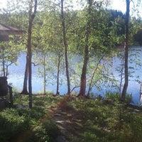 Photo taken at rantasaunaa by Erika K. on 6/22/2012