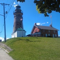 Photo taken at Fairport Harbor Lighthouse & Marine Museum by Misty D. on 8/18/2012