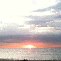 Photo taken at Bogatell Beach by Roshanikra on 10/21/2011