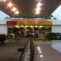 Photo taken at Shell by Kristi D. on 7/31/2011