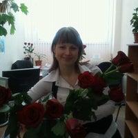 Photo taken at Трамвайная остановка «Фучика» by Анастасия К. on 8/22/2012