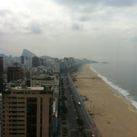 Photo taken at Marina Palace Rio Leblon by Fabio d. on 3/16/2012